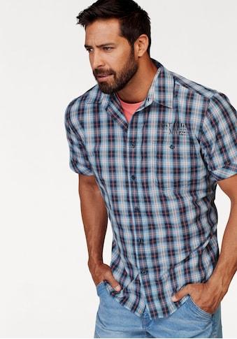 Man's World Kurzarmhemd, mit kleinem Print kaufen