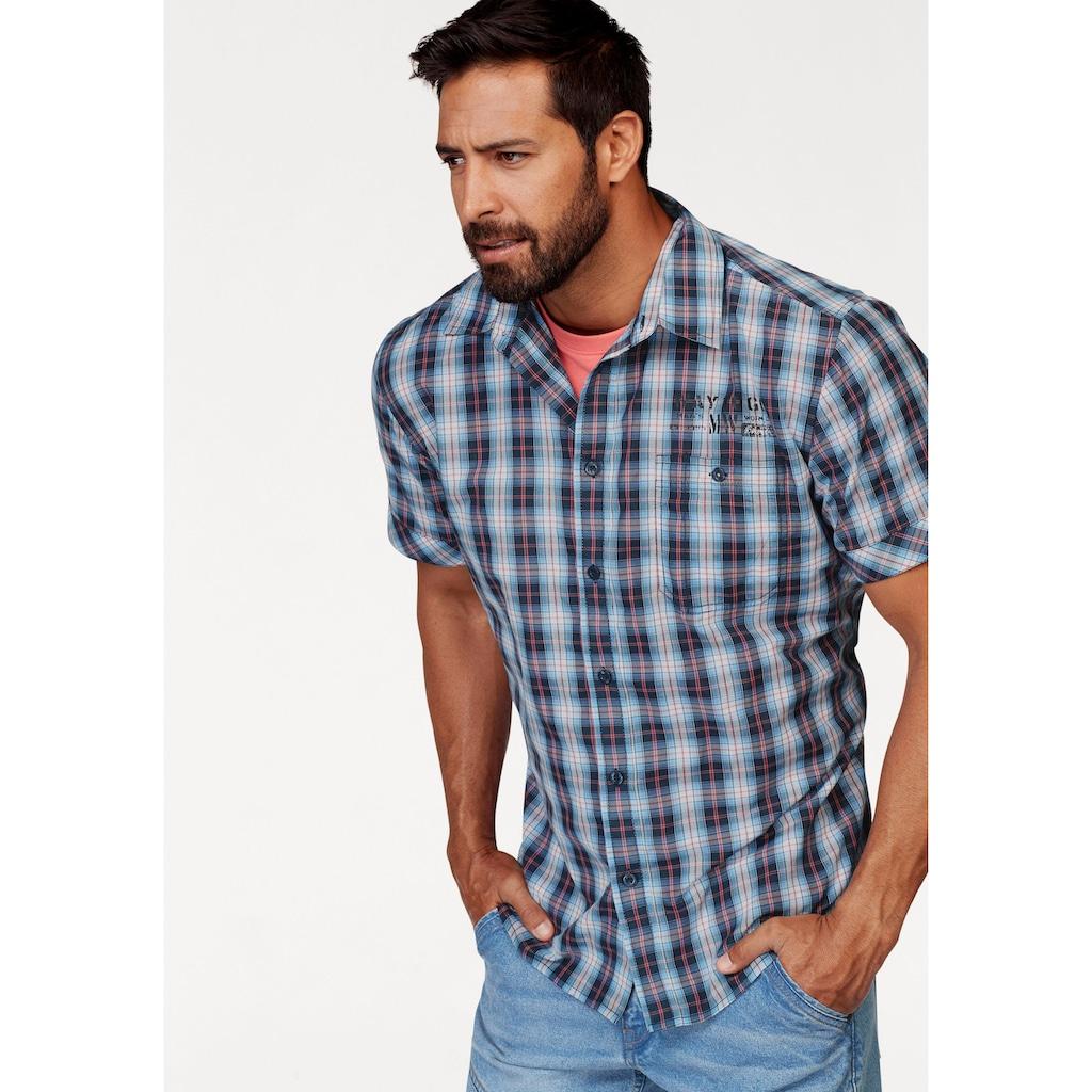 Man's World Kurzarmhemd, mit kleinem Print