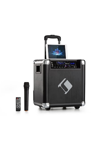 """Auna PA - Anlage 8"""" Woofer 35 / 100 Wmax. VHF - Mikro USB SD BT AUX mobil »Moving 80« kaufen"""