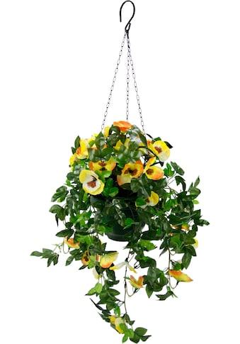 I.GE.A. Kunstpflanze »Stiefmütterchenhängeampel« (1 Stück) kaufen