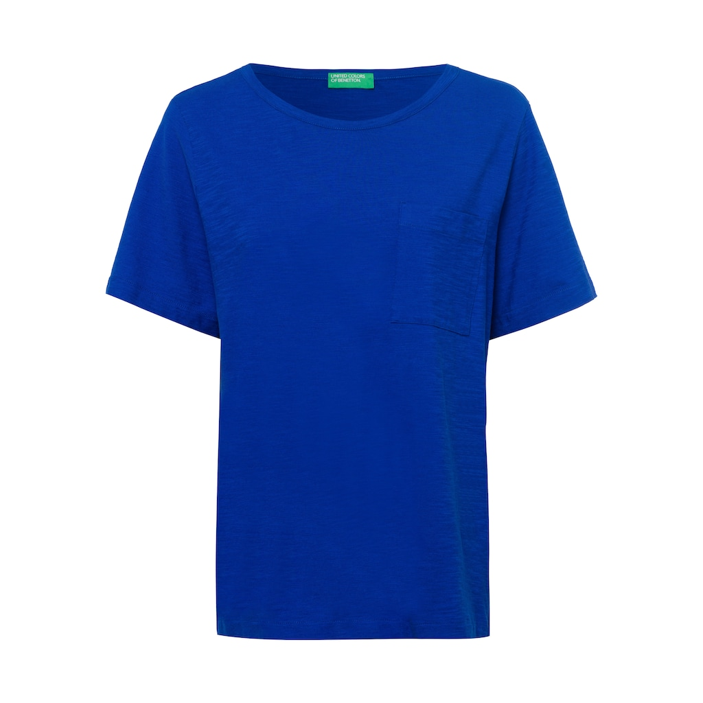 United Colors of Benetton T-Shirt, in cooler Basic-Form