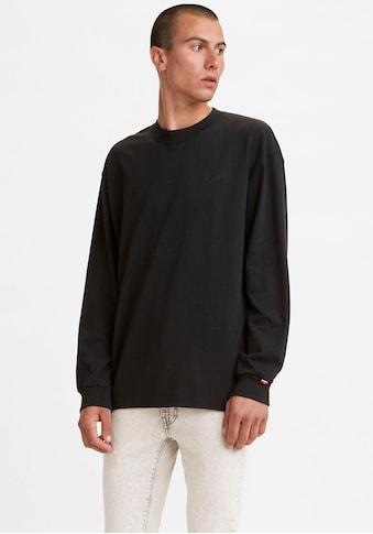 Levi's® Langarmshirt »LE LS RED TAB TEE«, mit Logobrustprint kaufen