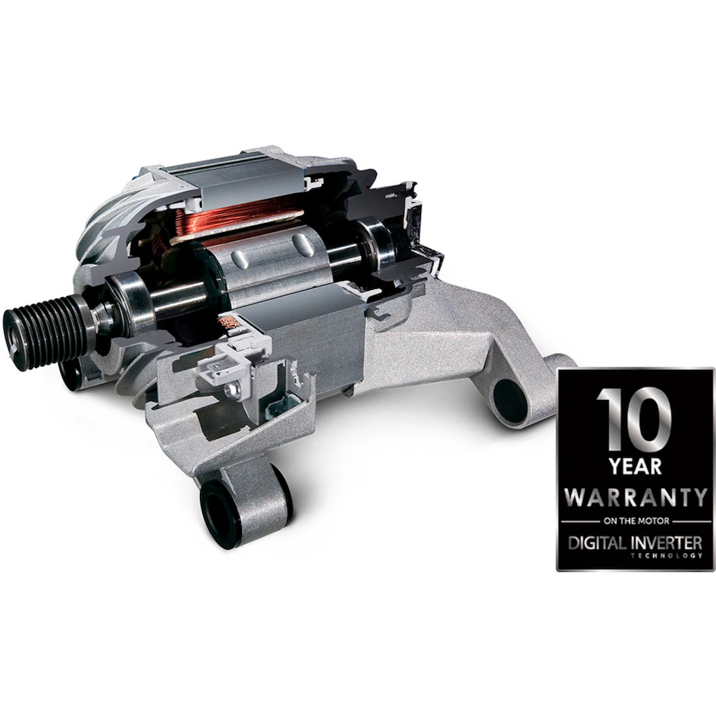 Samsung Waschmaschine »WW70TA049AX«, WW5000T INOX, WW70TA049AX
