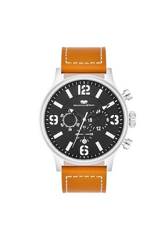 Rhodenwald & Söhne Chronograph »RWS013«, (1 tlg.), Armband aus Echtleder kaufen
