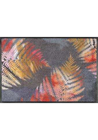 wash+dry by Kleen-Tex Fußmatte »Erbario«, rechteckig, 7 mm Höhe, Schmutzfangmatte, In-... kaufen