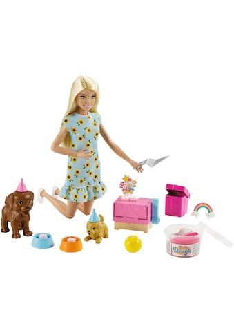 Mattel® Anziehpuppe »Barbie Hündchenparty und Puppe«, (Set) kaufen