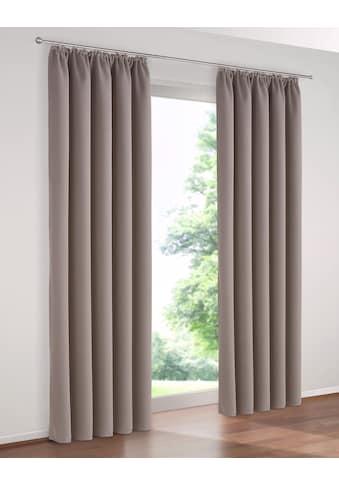 my home Verdunkelungsvorhang »Solana«, Breite 140 cm kaufen
