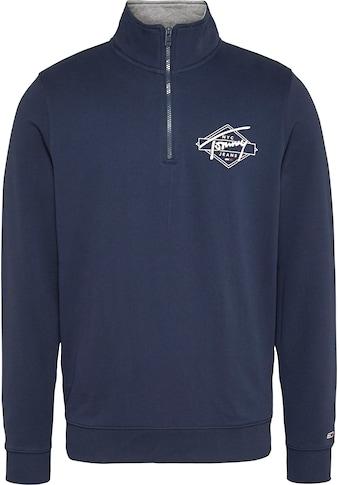 TOMMY JEANS Sweatshirt »TJM TONAL LOGO MOCK NECK« kaufen