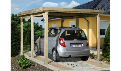 weka Einzelcarport »Optima 1«, Holz, 270 cm, braun kaufen