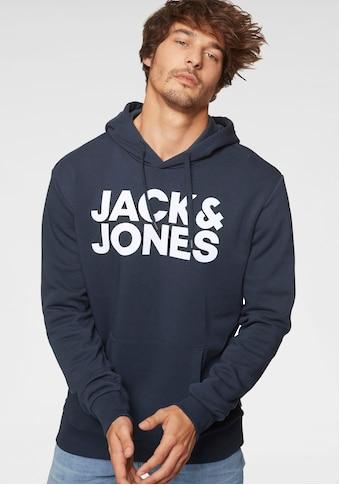 Jack & Jones Kapuzensweatshirt »Jack & Jones Logo Hoodie JJCORP« kaufen