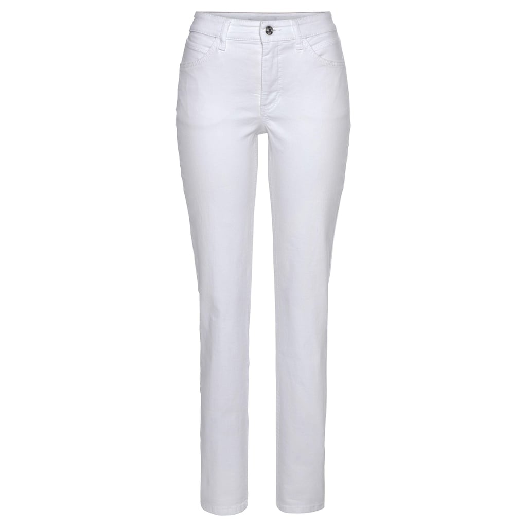 MAC 5-Pocket-Jeans »Melanie-Butterfly«, Mit Glitzernieten