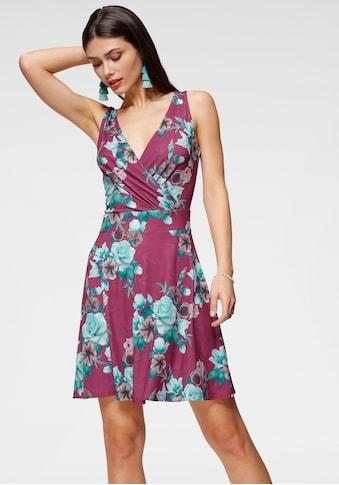 Melrose Jerseykleid, mit Wickel-Ausschnitt kaufen