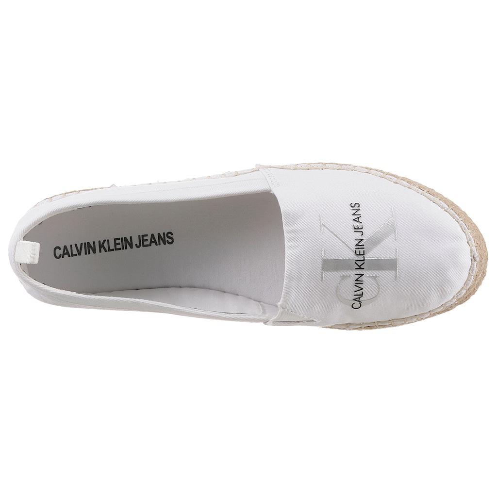 Calvin Klein Espadrille »ELSA«, mit Logodruck