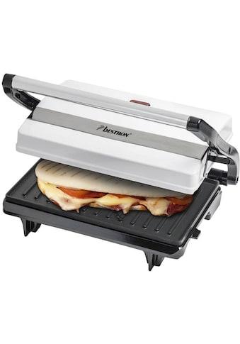 bestron Paninigrill »Viva Italia«, 700 W, auch als Sandwich-/Panini-Kontaktgrill... kaufen
