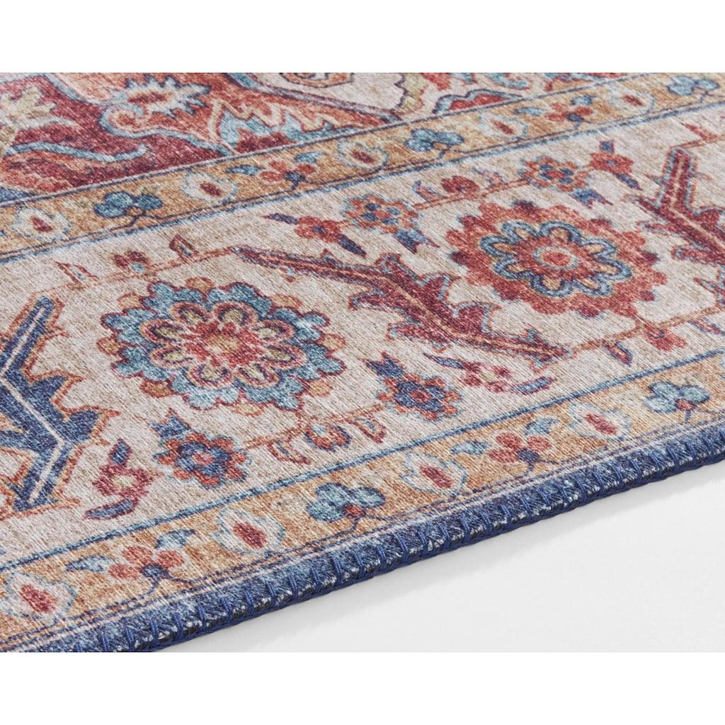 NOURISTAN Teppich »Anthea«, rechteckig, 5 mm Höhe, Vintage Design, Orient-Optik, Wohnzimmer