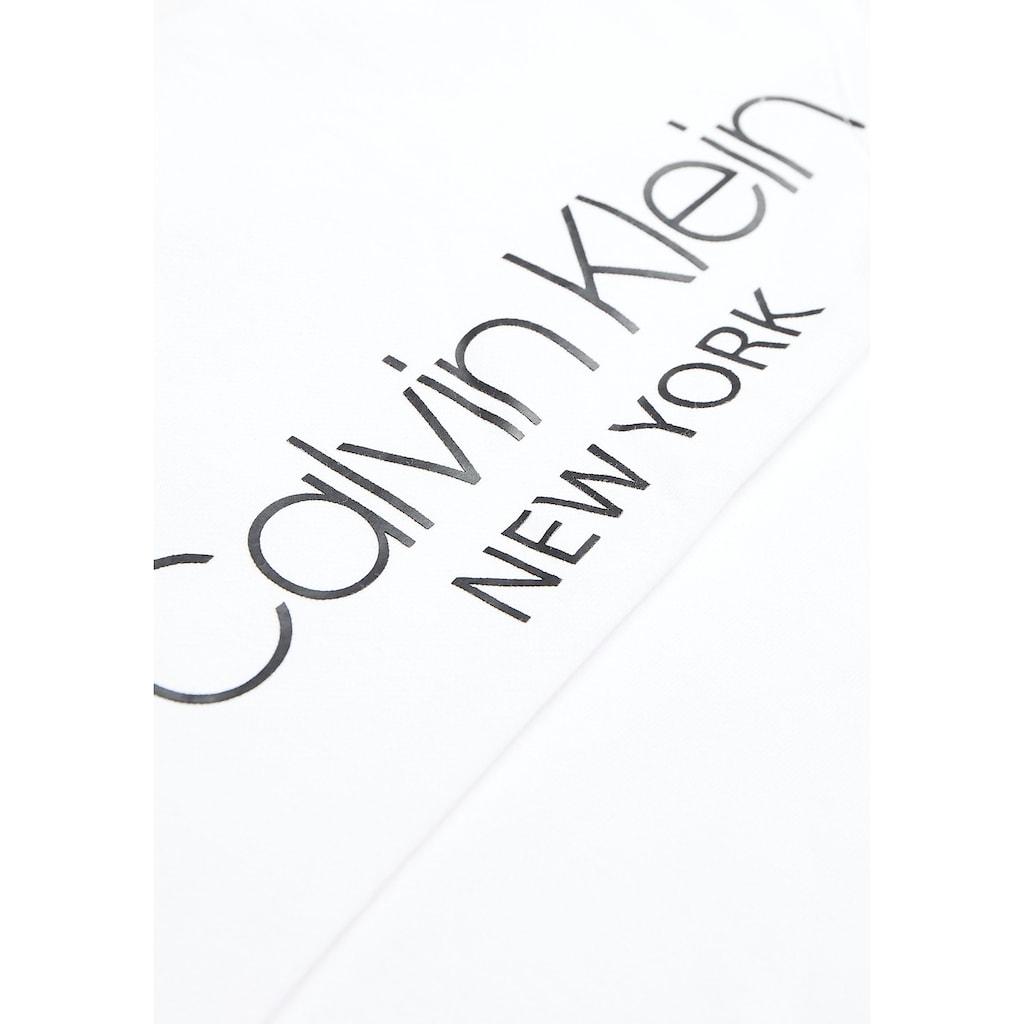 Calvin Klein Kapuzensweatshirt »VERTICAL SIDE LOGO PRINT HOODIE«