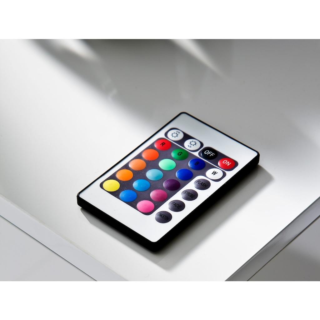 MCA furniture Lowboard »Step«, inkl. Fernbedienung und LED-Farbwechselbeleuchtung