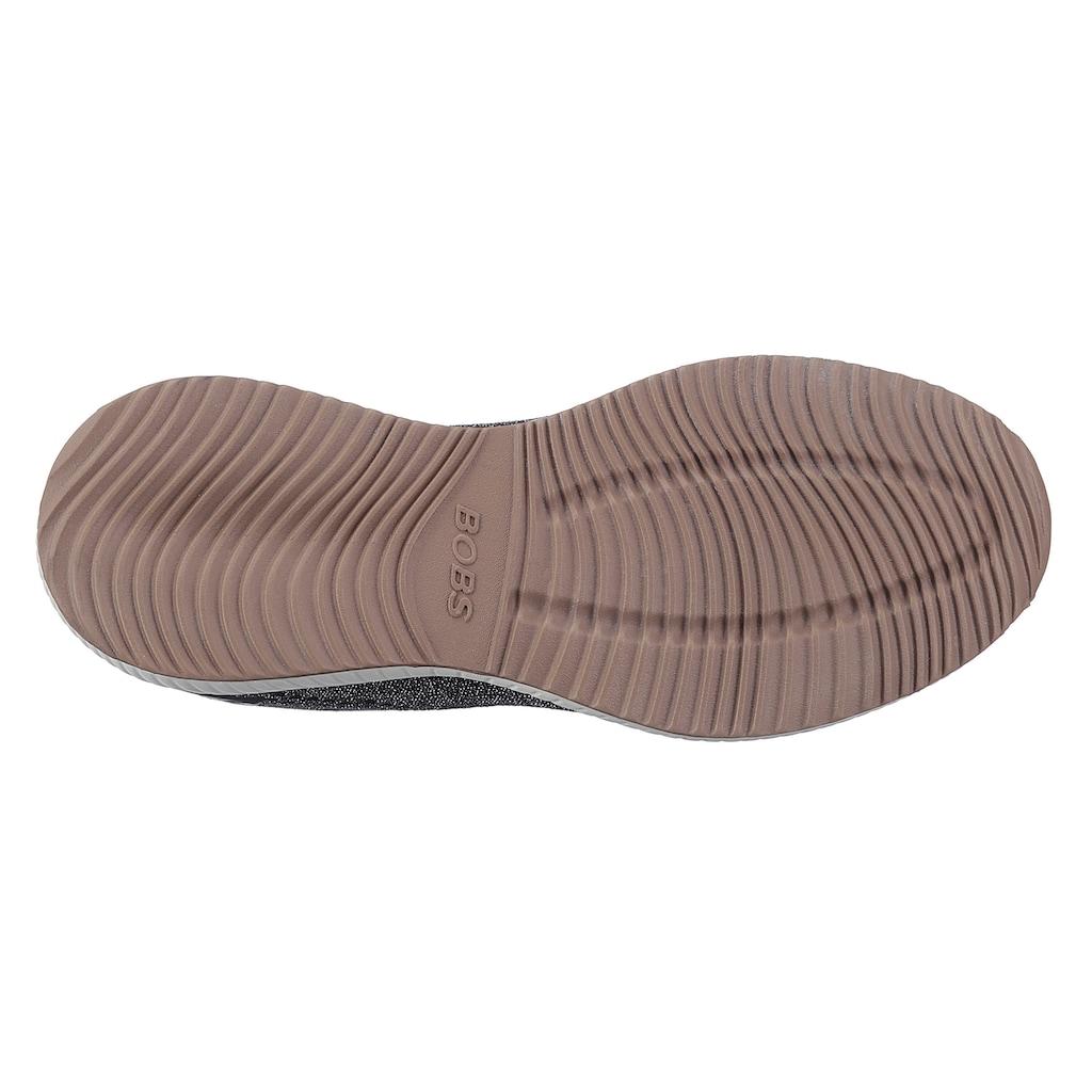 Skechers Sneaker »BOBS SQUAD - GLITZ MAKER«, im Glitzer-Look