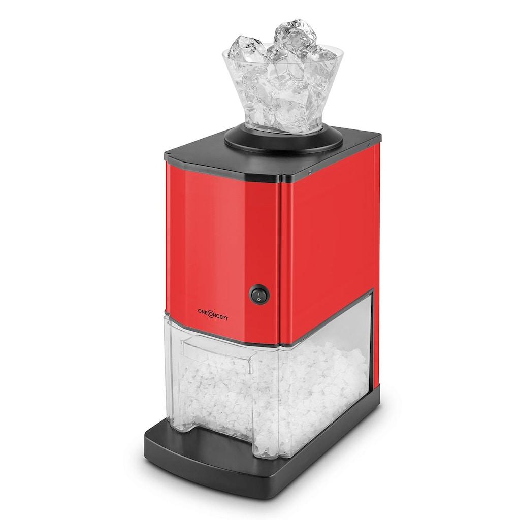 ONECONCEPT Ice Crusher 15kg/h 3,5 Liter Eisbehälter Edelstahl »OJ6-Icebreaker-R«