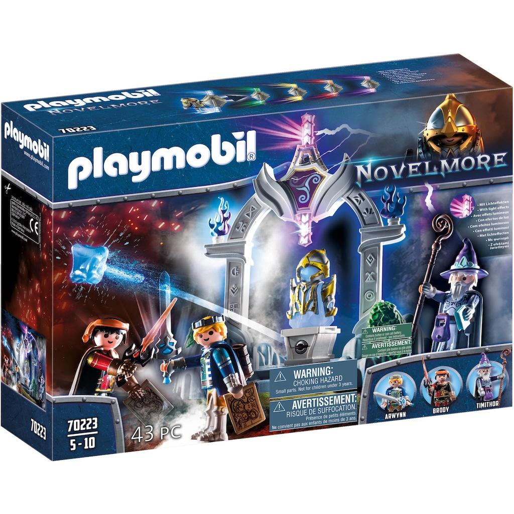 Playmobil® Konstruktions-Spielset »Tempel der Zeit (70223), Novelmore«, (43 St.), Made in Germany