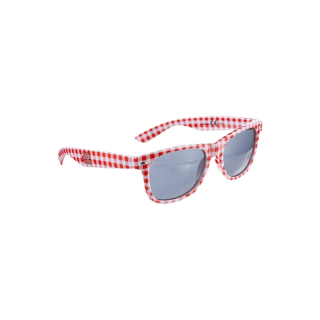 Andreas Gabalier Fanartikel Sonnenbrille im Karodesign