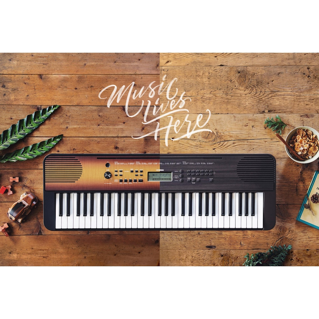 Yamaha Keyboard »PSR-E360MA«, 3-stufige Übungen mit Hör-, Timing- und Wartemodus