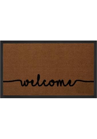 HANSE Home Fußmatte »Cozy Welcome«, rechteckig, 5 mm Höhe, Fussabstreifer,... kaufen