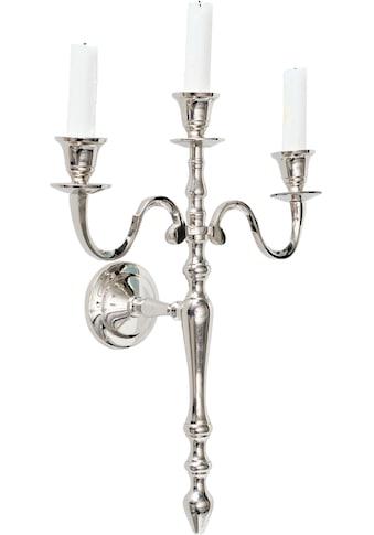 Home affaire Wandkerzenhalter, Wandleuchter, Kerzenhalter, Kerzenleuchter, Wanddeko, Wanddekoration kaufen