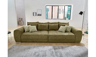 Jockenhöfer Gruppe Big-Sofa, inklusive loser Rücken- und Zierkissen, frei im Raum stellbar kaufen