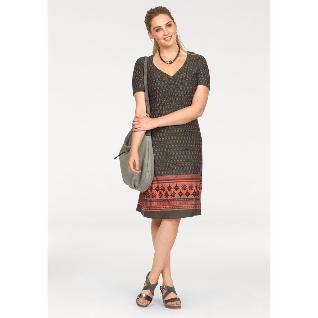 Boysen's Jerseykleid, im Ethno-Stil