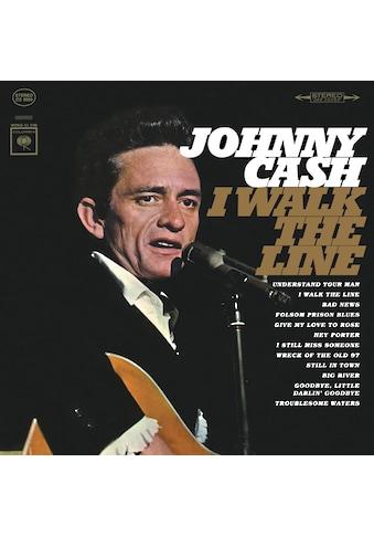 Vinyl I Walk The Line / Cash,Johnny, (1 LP (analog)) kaufen