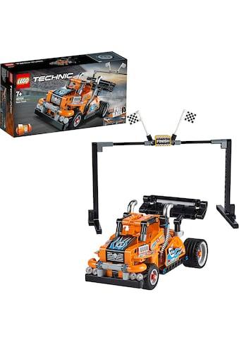 """LEGO® Konstruktionsspielsteine """"Renn - Truck (42104), LEGO® Technic"""", Kunststoff, (227 - tlg.) kaufen"""