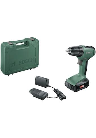 BOSCH Akku-Bohrschrauber »UniversalDrill 18«, inkl. Akku und Koffer kaufen