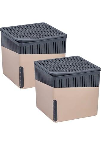 WENKO Luftentfeuchter »Cube Grau«, für 80 m³ Räume kaufen