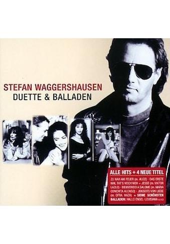 Musik - CD Duette & Balladen / Waggershausen,Stefan, (1 CD) kaufen