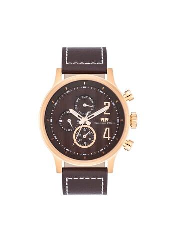 Rhodenwald & Söhne Multifunktionsuhr »RWS015«, (1 tlg.), Armband aus Echtleder kaufen