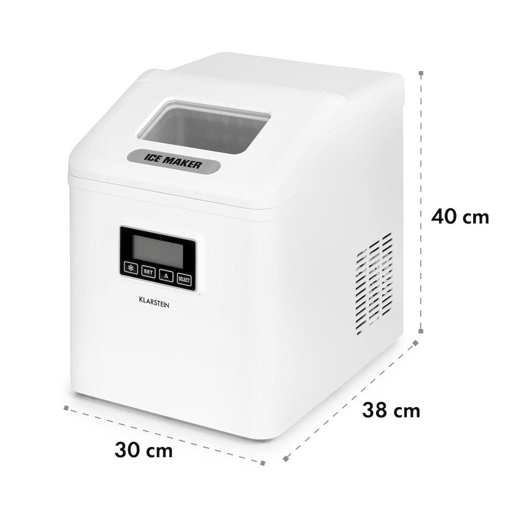 Klarstein LCD Eiswürfelmaschine Klareis 15-20kg/24h