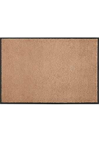 HANSE Home Fußmatte »Wash & Clean«, rechteckig, 7 mm Höhe, Fussabstreifer, Fussabtreter, Schmutzfangläufer, Schmutzfangmatte, Schmutzfangteppich, Schmutzmatte, Türmatte, Türvorleger, In- und Outdoor geeignet, waschbar kaufen