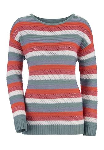 Inspirationen Streifenpullover »Pullover« kaufen