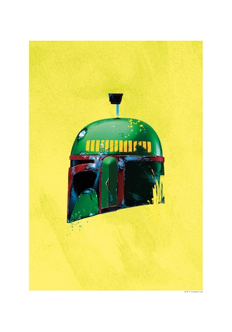 Komar Poster »Star Wars Classic Helmets Boba Fett«, Star Wars kaufen