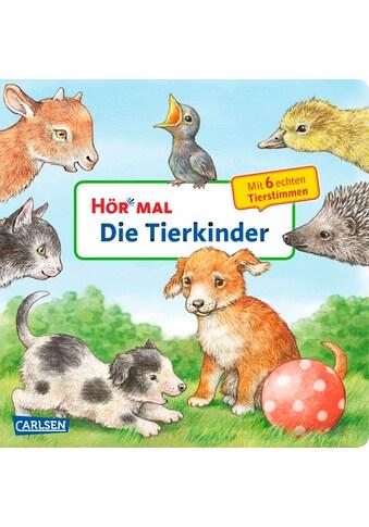 Buch »Hör mal (Soundbuch): Die Tierkinder / Anne Möller, Anne Möller« kaufen