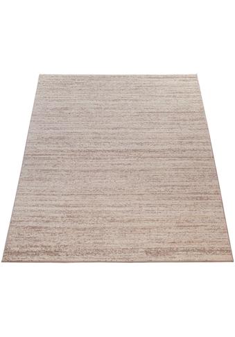 Paco Home Teppich »ECE 900«, rechteckig, 14 mm Höhe, Kurzflor, einfarbig meliert,... kaufen