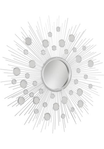Leonique Dekospiegel »Spiegel«, rund, mit dekorativen Spiegelelementen kaufen