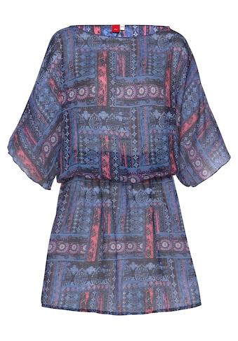 s.Oliver Beachwear Tunika, mit grafischem Druck kaufen