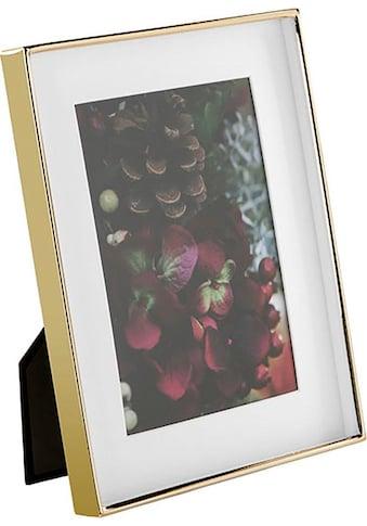 Fink Bilderrahmen »KIM, goldfarben«, Fotorahmen, mit Passepartout, für Bildformate 13x18cm und 20x25 cm, Wohnzimmer kaufen