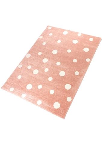 Living Line Teppich »Pünktchen«, rechteckig, 12 mm Höhe, Spielteppich, Wohnzimmer kaufen
