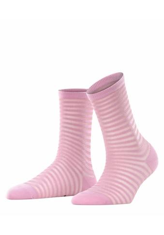 FALKE Socken »Flash Rib«, (1 Paar), mit transparenten Effekten kaufen