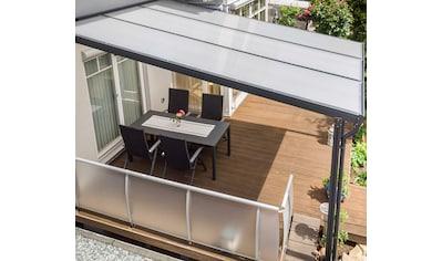 GUTTA Terrassendach »Premium«, BxT: 309x306 cm, Dach Acryl Klima blue kaufen