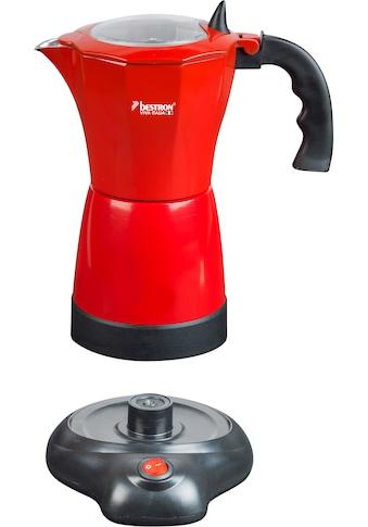 bestron Espressokocher »Viva Italia«, mit Basis, für 6 Espressotassen: 180 ml, 480... kaufen