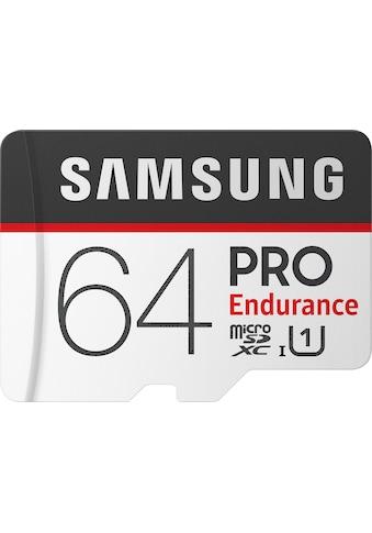 Samsung Speicherkarte »PRO Endurance microSD 64 GB«, ( UHS Class 1 ) kaufen